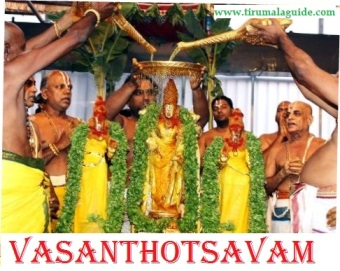 Vasanthotsavam Seva Timings in Tirumala Online Booking